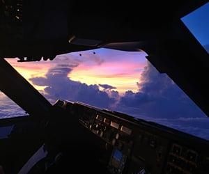 sky and plane image