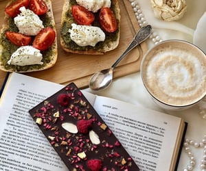 aesthetic, beverage, and chocolates image