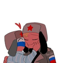 fanart, russia, and countryhumans image