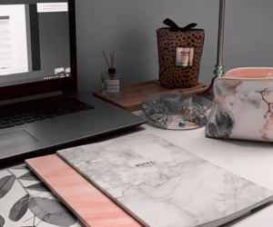 boss, desk, and learning image