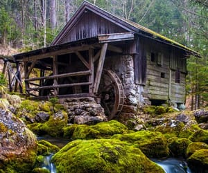 austria and watermill image