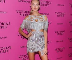 dress, victorias secret, and model image