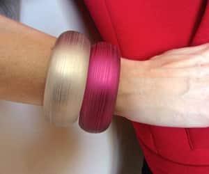 etsy, modern retro, and bangle bracelets image
