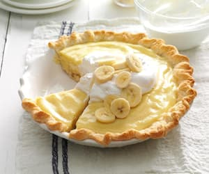 banana, cream, and delicious image