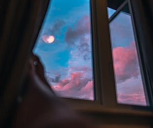 aesthetic, clouds, and interior image