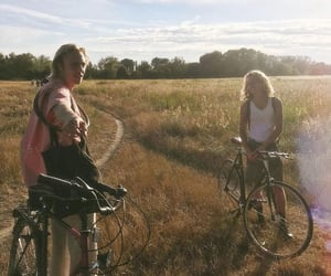 bikes, happy, and smile image