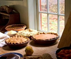 pie, autumn, and autumnal image