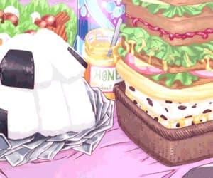 gif, anime food, and anime image
