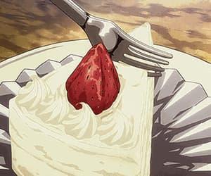 anime, anime cake, and food gif image