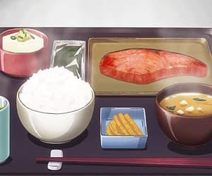 gif, yummy, and anime food image