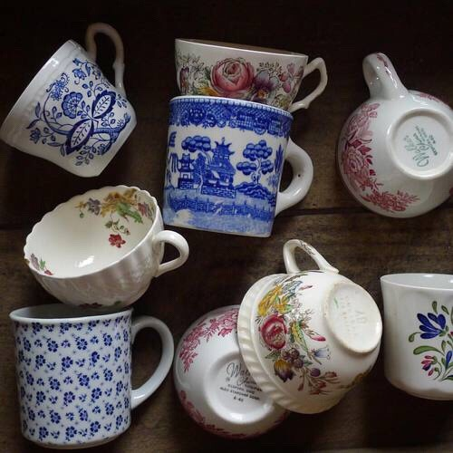 cottage, pretty, and tea cup image