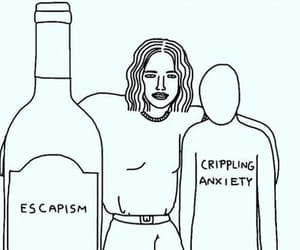 anxiety, me, and art image