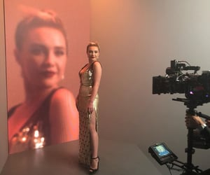 little women, vanity fair oscar party, and florence pugh image