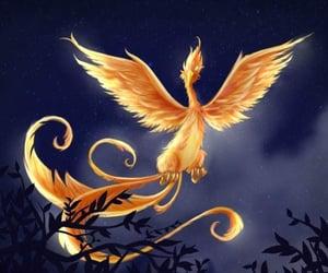 bird, mythology, and creature image