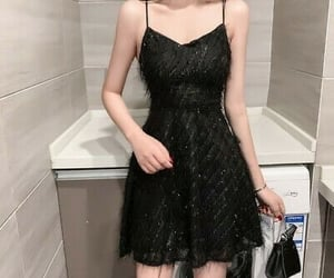 black, clothes, and outfit image