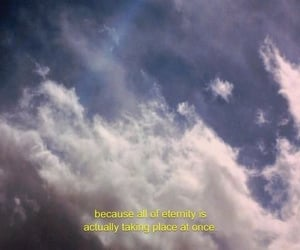 clouds, eternity, and mood image