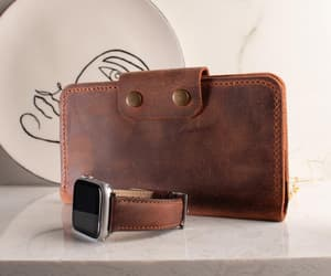 leather watch band, wallet women, and etsy image