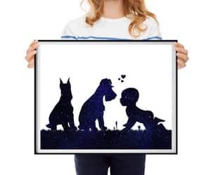 etsy, baby art print, and nursery decor pets image