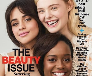 magazine, ellefanning, and camilacabello image