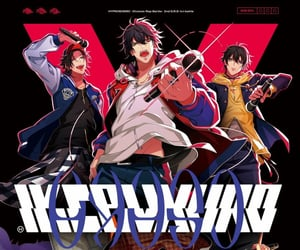 anime, hypmic, and hypnosis microphone image