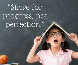 perfection, progress, and strive image
