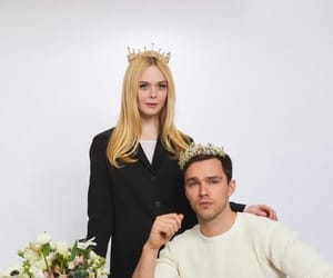 Elle Fanning, the great, and nicholas hoult image