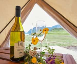 romance, glamping, and vacation image