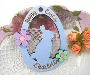 easter, easter bunny, and etsy image
