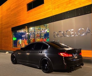 luxurious, black, and bmw image