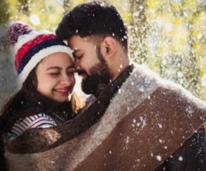 couple, nature, and romance image