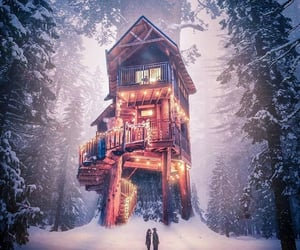 amazing, cabin, and dreamy image