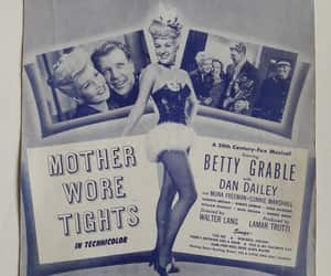 Betty Grable, pin up girl, and singer dancer image