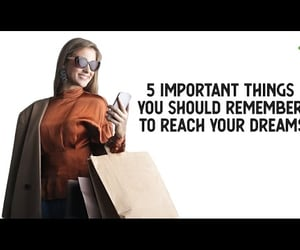 video, life goals, and reach your goals image