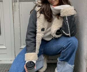 street style, everyday look, and winter wear image