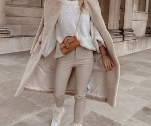 clothes, beige, and moda image