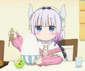 gif, anime food, and anime food gif image
