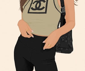 art, casual, and chanel image