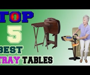 folding tv tray table, best tray tables, and best tray table image