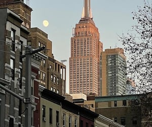 building, new york, and aesthetic image
