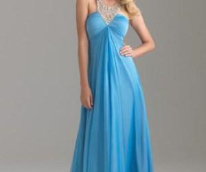 dress, evening dress, and woman image