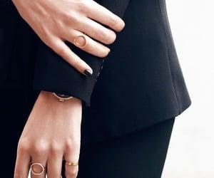 jewls, minimalist, and rings image