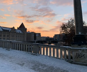 beautiful, snow, and berlin image