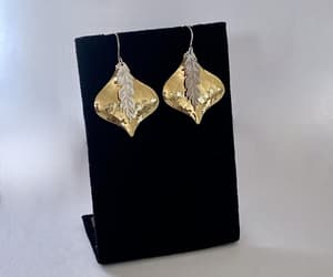 costume jewelry, light weight, and dangle earrings image