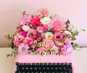belleza, flores, and retro image