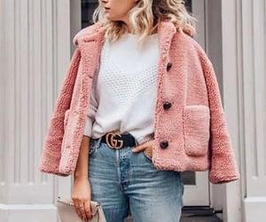 coat, cozy, and february image