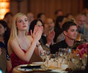 Elle Fanning, logan lerman, and the great image