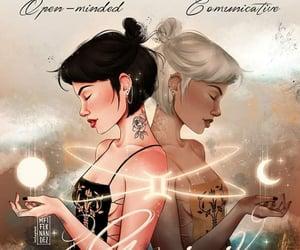 gemini, zodiac, and star sign image