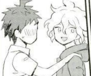 manga, nagito, and danganronpa image