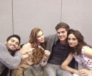 teen wolf, crystal reed, and tyler hoechlin image