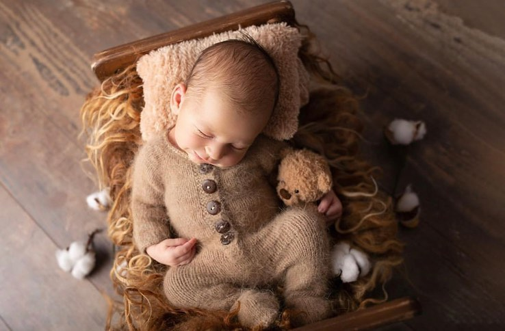 baby, cute baby, and baby sleep training image